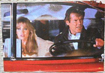 View to a Kill, Press Photo, Roger Moore, James Bond, Tanya Roberts, '85 (JB12)